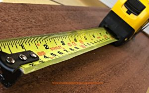 Tape Measure for Woodworking
