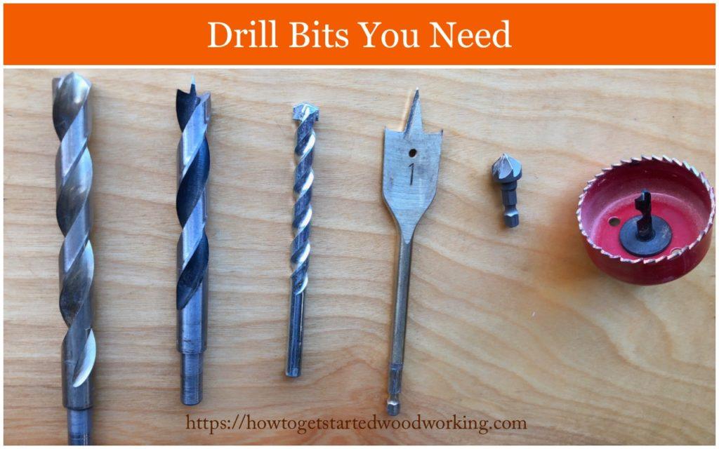 types drill bits
