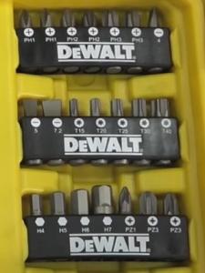 screw driver bits