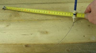 Tape measure Compass