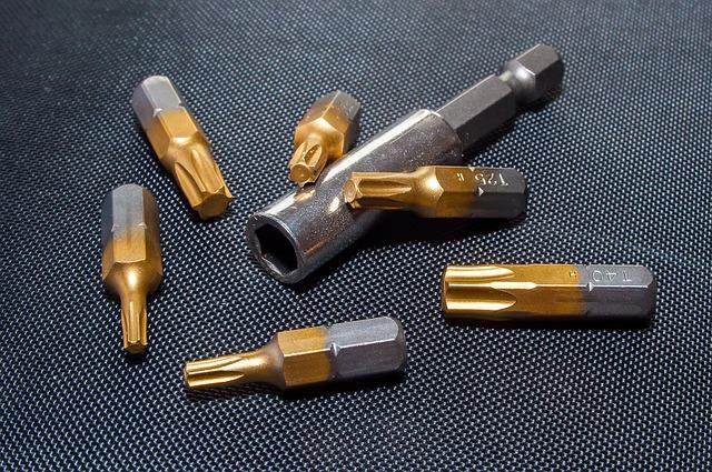 torx screwdriver bits