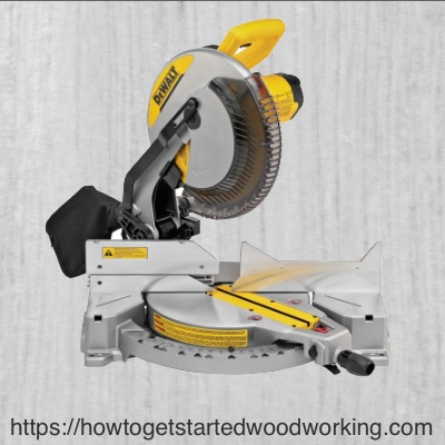 De Walt Compound Mitre Saw