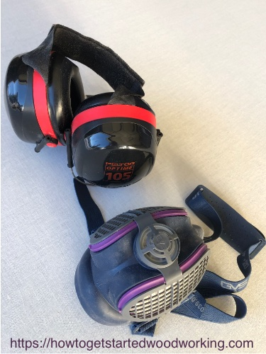 Hearing Protection and Respirator