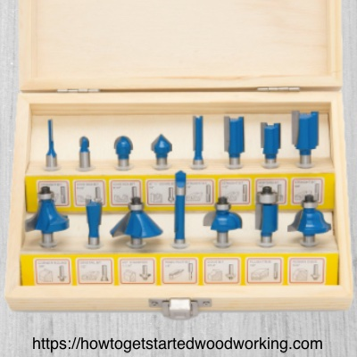 Router bit assortment