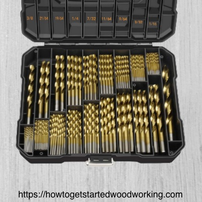 Twist drill bit assortment