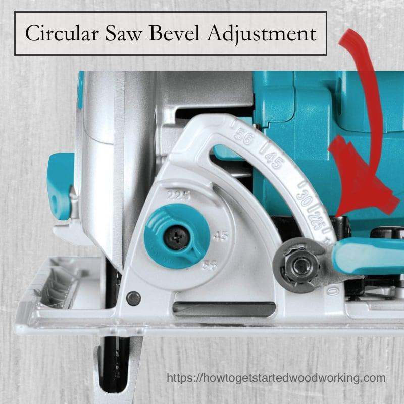 Circular Saw Bevel Adjustment