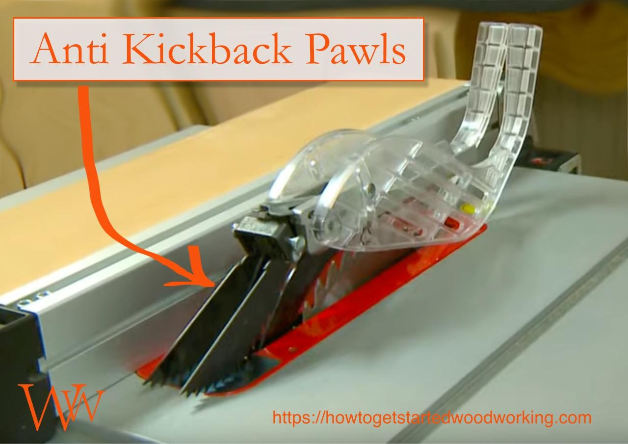 anti kickback pawls