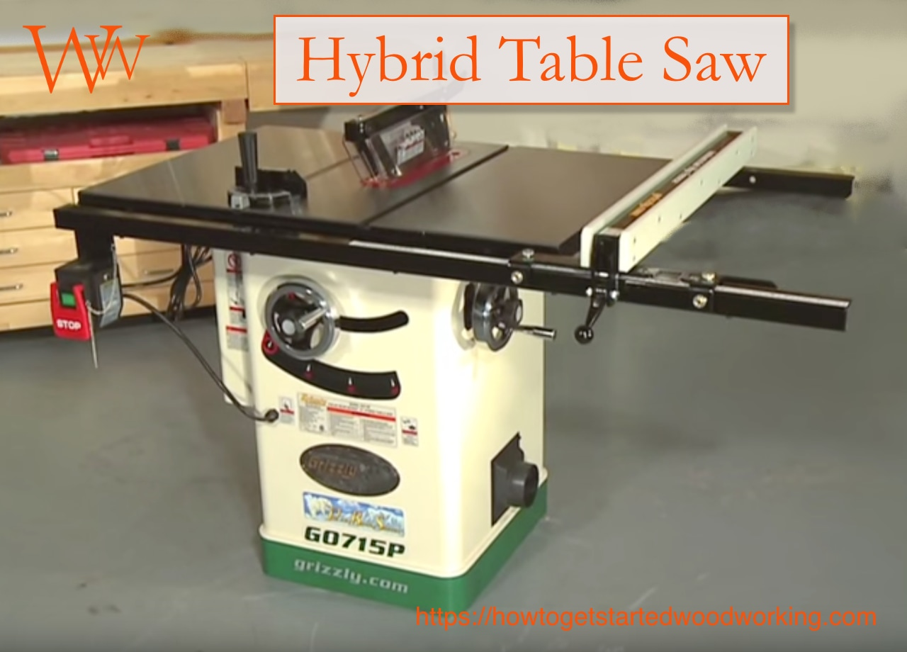 Hybrid Table Saws