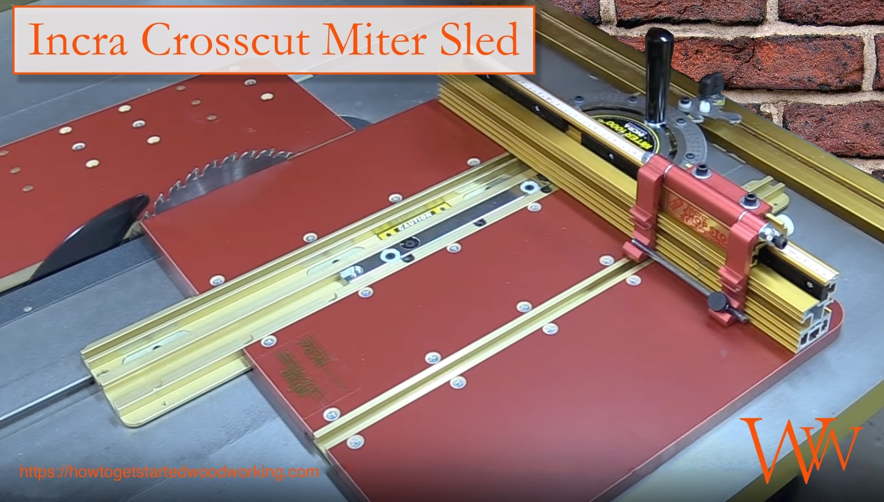 Incra Crosscut Miter Sled