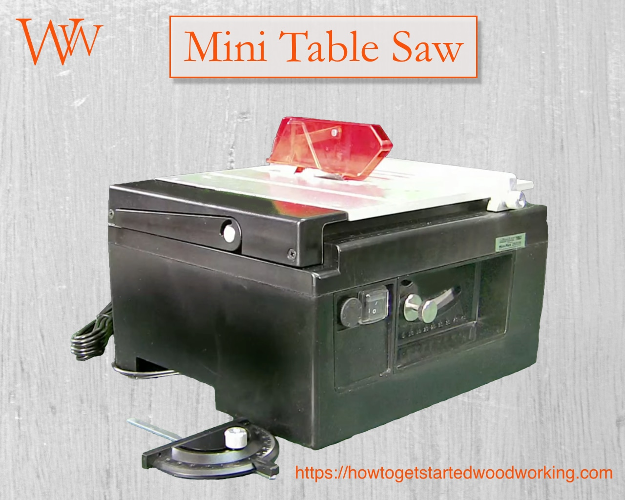 Miniature Table Saw