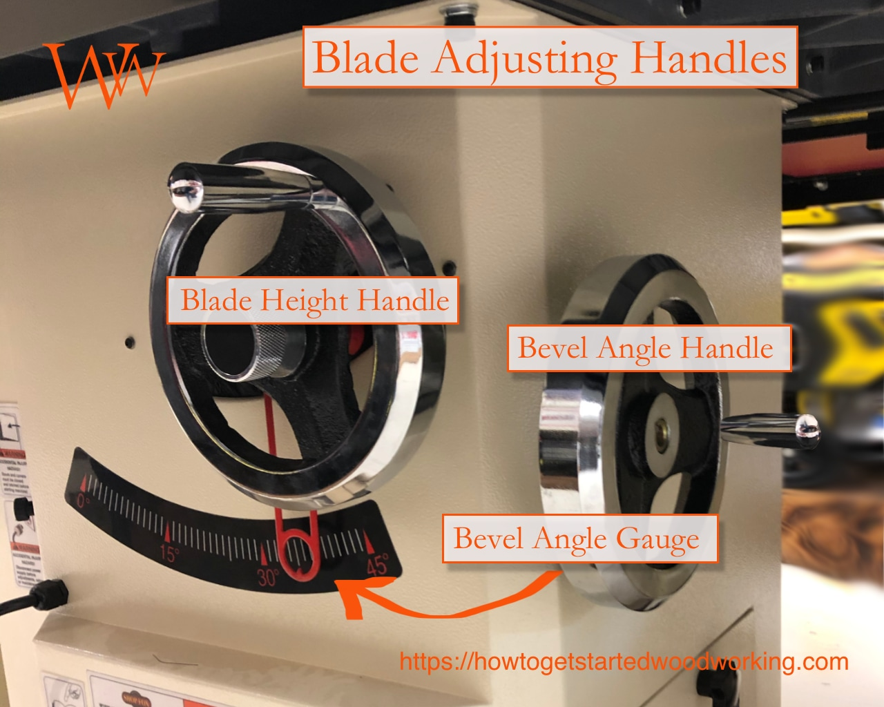 Table saw Adjustment