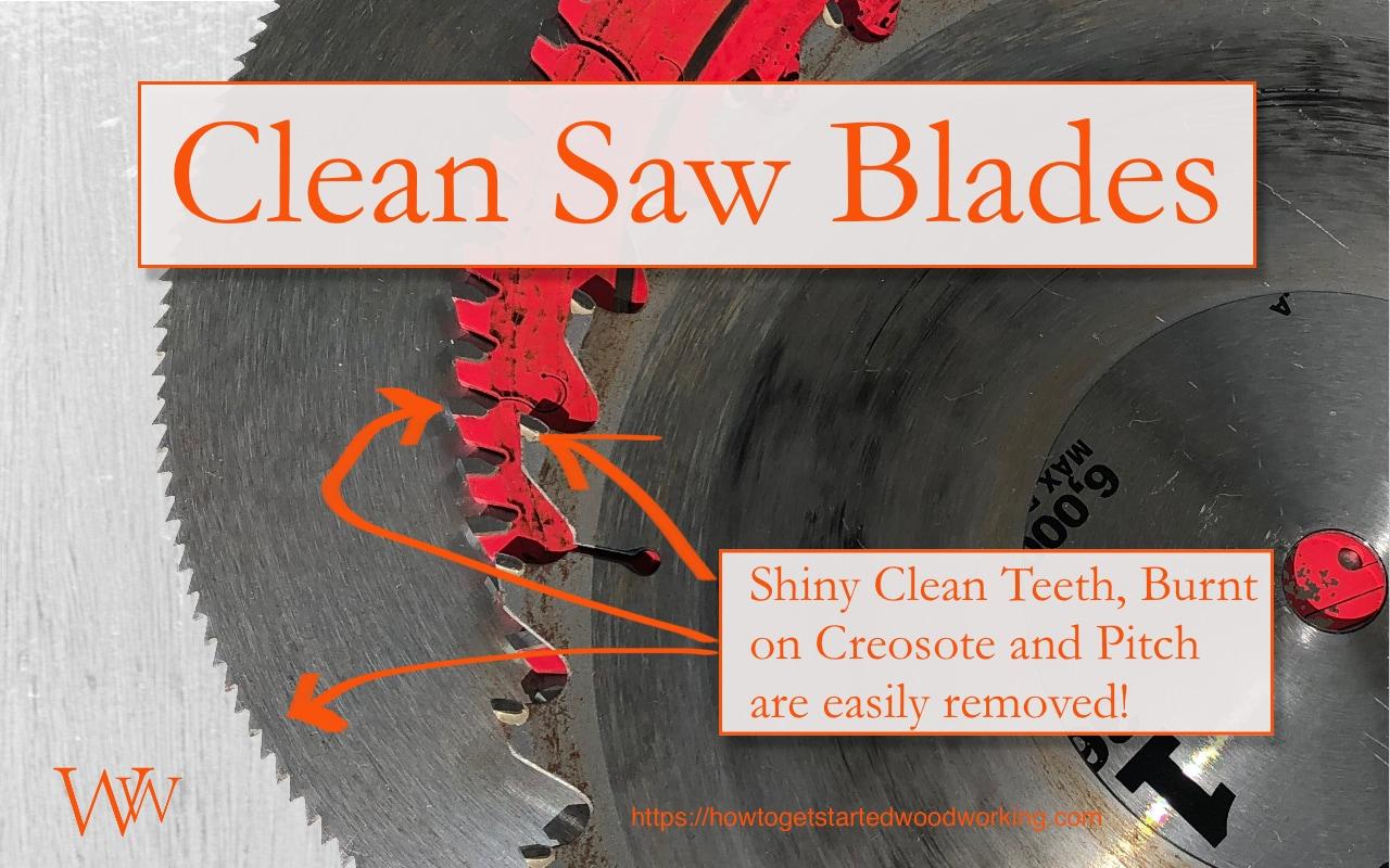 Clean Saw Blades